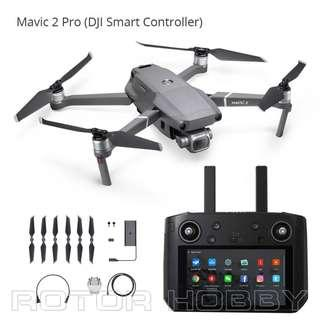 Price nego, 2019 16GB EU version Mavic 2 Pro with Smart Controller with warranty