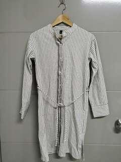 Boyfriend's shirt dress