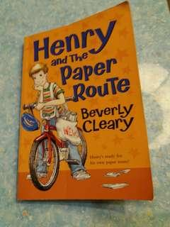 Henry & the paper route Beverly Cleary
