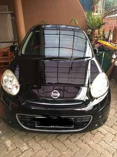 Nissan March M/T 2011 Black