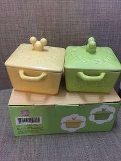 Mickey Mouse 陶瓷甜品碗套裝