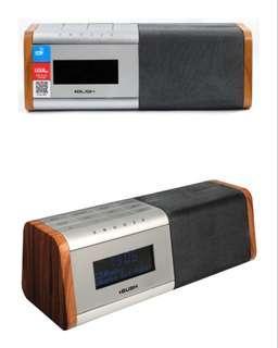 [BNIB] - BUSH DAB+ Digital Clock Radio (Walnut)