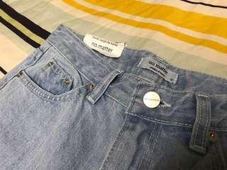 🚚 🇰🇷刷色超美直筒牛仔褲