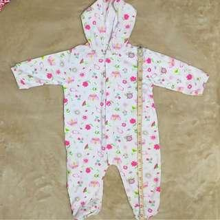 Baby Frogsuit with hoodie