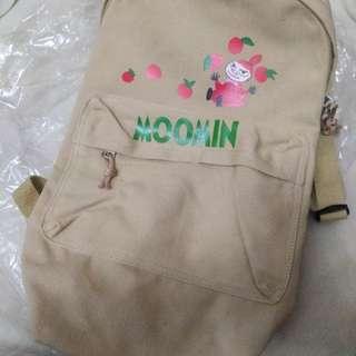 嚕嚕米 moomin 後背包 日本買回