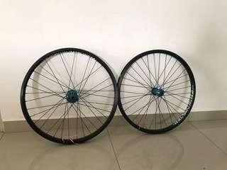 Dartmoor wheelset