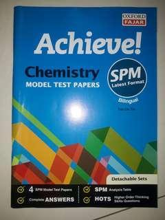 Chemistry Model Test Papers SPM Format