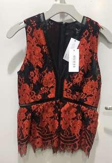 Authentic Guess Lace Sleeveless blouse