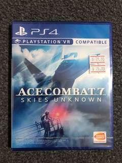 PS4 PSVR Ace Combat 7