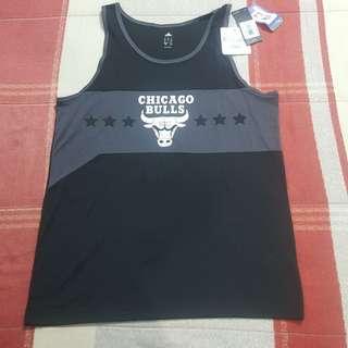 22817445f Legit BNWT Adidas NBA Chicago Bulls Men s Tanktop T-Shirt L