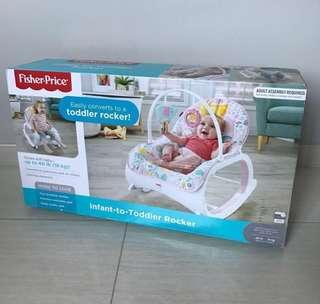Free Delivery Brand New Fisher-Price infant-to-Toddler Rocker Pink
