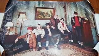 B.A.P Poster Rose 6th Single Album