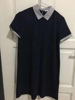 Zara mini dress casual work dress