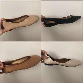 Square front flats (INSTOCK)