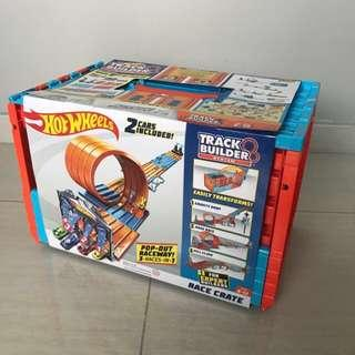 Free Delivery Brand New Hot Wheels Track Builder System Race Crate