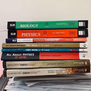 PURE SCIENCE TEXTBOOKS/ ASSESSMENT BOOKS