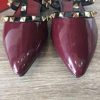 Valentino studded loafer