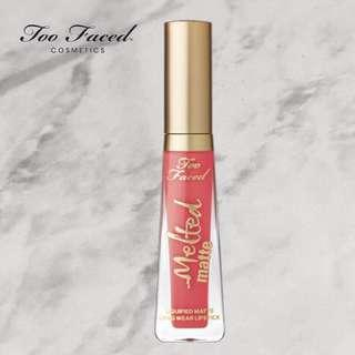 """Too Faced Melted Matte Liquid Lipstick in """"Feeling Myself"""""""