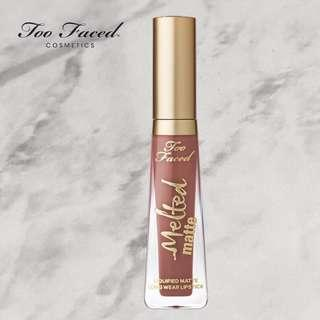 """Too Faced Melted Matte Liquid Lipstick in """"Cool Girl"""""""