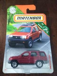 2018 Matchbox 2000 Nissan Xterra