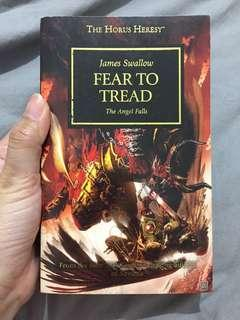 Import Book: Warhammer 40,000 - Fear to Tread