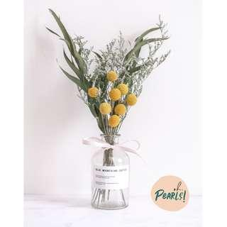 INS Dried Flower Bouquet Jar - Everlasting Bliss
