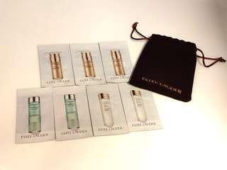 Estee Lauder Revitalizing Supreme+ Skin Care Set (7 sachets) 護膚旅行包連錦袋
