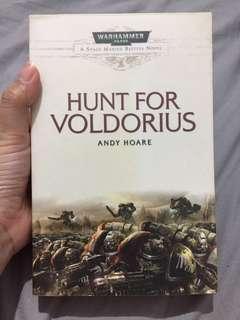 Import Book: Warhammer 40,000 - Hunt for Voldorius