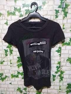Black Shirt with zipper