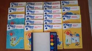 Grolier LOGICO IQ Learning Card System