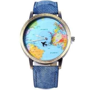 Denim Fashion Watch