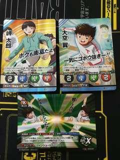 足球小將 Captain Tsubasa Football Card 閃卡 志偉 泰來 超級稀有 SR(咭 未使用品)