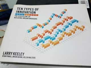 Ten Type Of Innovation Business Entrepreneur Book