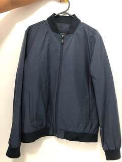 Calvin Klein Navy Bomber Jacket