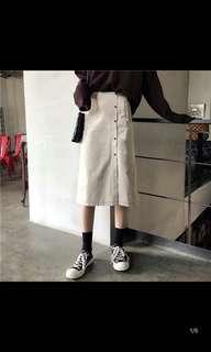 🚚 開叉長裙