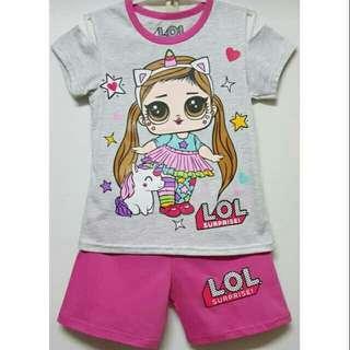 Setelan baju anak LOL Surprise