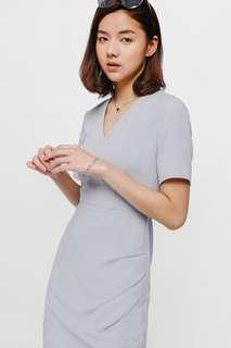 Amelies Ruched Midi Dress