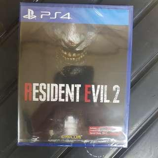KASET PS4 RESIDENT EVIL 2 REGION 3