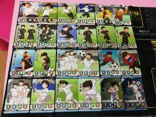 足球小將 Captain Tsubasa Card 白卡 一套共22張 大空翼 志偉(不連閃咭 未使用品)