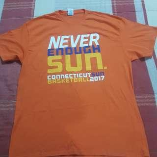 Legit BNWOT WNBA Connecticut Sun Men's T-Shirt XL