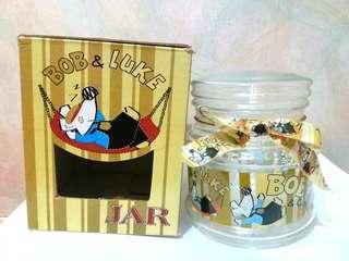 全新 老鼠仔 密實玻璃瓶/密實玻璃樽 連禮盒 $55/1 (只有1個)