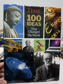 Time 100 Ideas That Changed the World Book