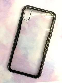 100% new 全新 Iphone X XS case  保護殼 透明 包邊 軟殼