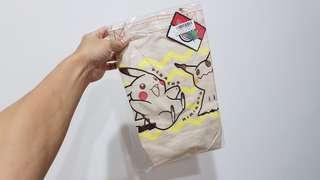 🚚 【全新日貨出清】Pokemon 皮卡丘×謎擬Q 購物袋