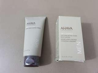 🚚 Ahava shave cream n after shave