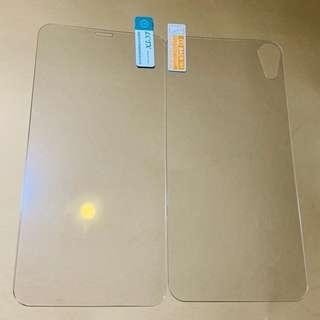 iPhone XR 2pc front & back tempered glass screen protector (free postage)