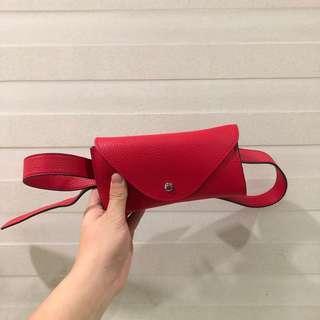 Mango Red Belt Bag