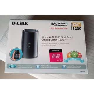 [BRAND NEW] D-Link DIR-850L Wireless AC1200 Dual-Band Gigabit Cloud Router
