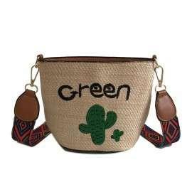 Green Cactus Sling Bag 3A0010