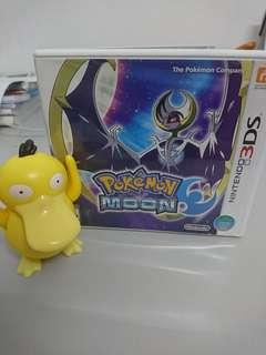 Pokemon MOON Nitendo 3DS game card🌘🌘